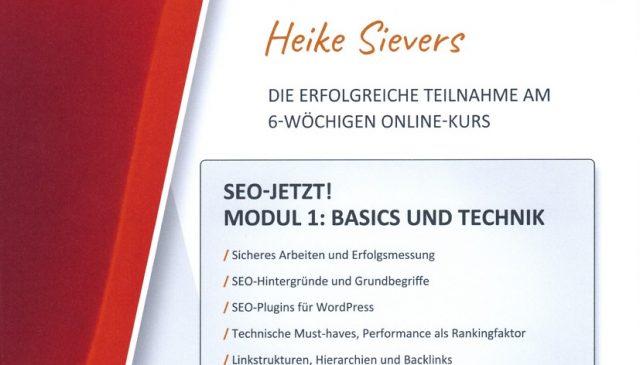 Seo-Texter Onlinekurs