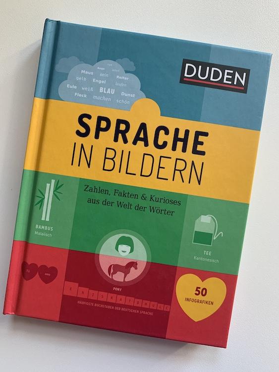 Buch Sprache und Wörter in Bildern