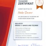 Zertifikat SEO-Texter